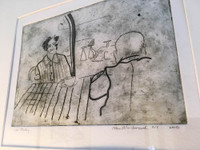 Drypoint Line Drawing