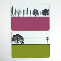 Leeds Armley & Leeds Yeadon Table Mats - The Art Rooms