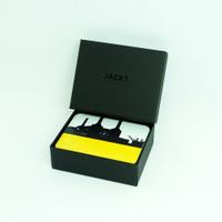 London Coasters with Luxury Black Gift Box- Jacky Al-Samarraie