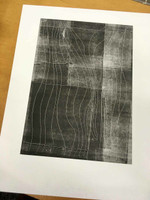 Hand drawn monotype - The Art Rooms print workshop