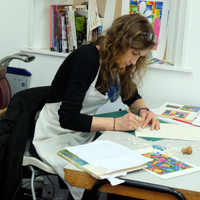 The Art Rooms Studio - Printmaking Workshop