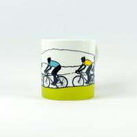 Sports cycling mug