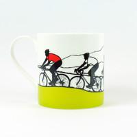 Jacky Al-Samarraie World Cycling mixed jersey bone china mug