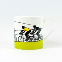Jacky Al-Samarraie Road Cycling bone china mug