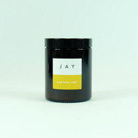 Black Pepper & Lemon Candle by Jacky Al-Samarraie