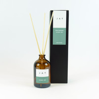 Cucumber & Musk reed diffuser for rooms by Jacky Al-Samarraie