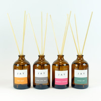 Room fragrance - Reed Diffuser by Jacky Al-Samarraie in four fragrances