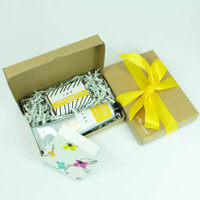 Soap & hand and body butter gift box by Jacky Al-Samarraie