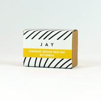 Buttermilk organic soap bar by Jacky Al-Samarraie