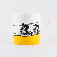 Jacky Al-Samarraie Yellow Jersey Cycling  Mug
