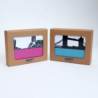 Six London Coasters in a gift box by Jacky Al-Samarraie