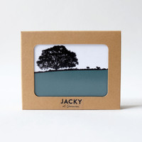 Six landscape melamine coaster gift box by Jacky Al-Samarraie