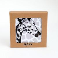 Boxed Wild Animal Coaster Set by Jacky Al-Samarraie