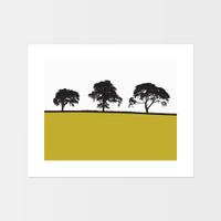 Landscape print of Carlisle by designer Jacky Al-Samarraie.