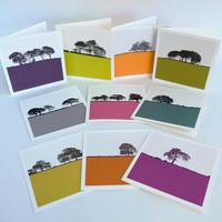 Landscape Greeting Cards by Jacky Al-Samarraie