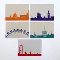 Jacky Al-Samarraie London Postcard Set