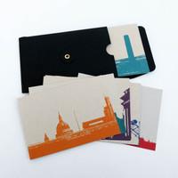 Jacky Al-Samarraie Postcard Set of 10 London Landmarks