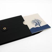 Jacky Al-Samarraie Set of 12 Edinburgh Postcards in a Black Wallet