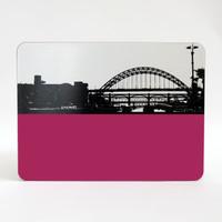 Jacky Al-Samarraie Tyne Bridge Newcastle Table Mat