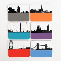 Jacky Al-Samarraie London Drinks Coaster Offer Pack 2