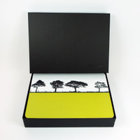 Luxury tablemat gift box. Table mats sold separately. Jacky Al-Samarraie