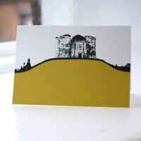 Jacky Al-Samarraie Cliffords Tower - York Greeting Card