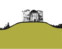 Jacky Al-Samarraie Cliffords Tower - York Greeting Card