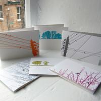 Jacky Al-Samarraie Letterpress Greeting Cards - Pack One