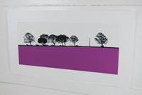 Jacky Al-Samarraie Calverley Landscape Screenprint