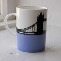 Jacky Al-Samarraie Tower Bridge Bone China Mug