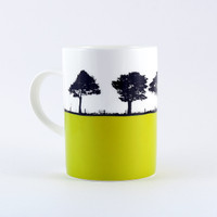 Yorkshire Landscape mug, Harrogate by Jacky Al-Samarraie