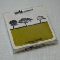 Jacky Al-Samarraie Rural Landscape Drinks Coasters - Set 2