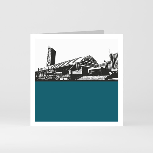 Jacky Al-Samarraie Manchester Central Greeting Card