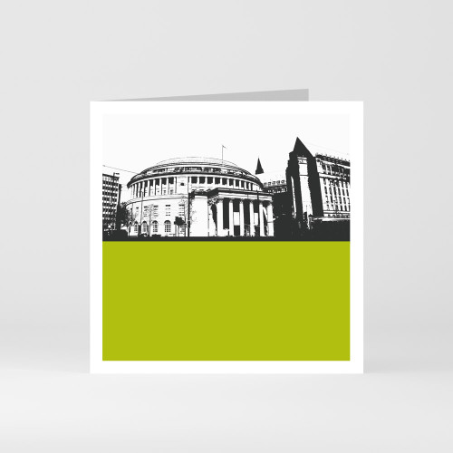 Jacky Al-Samarraie Manchester Central Library Greeting Card