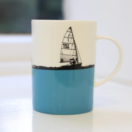 Jacky Al-Samarraie Sailing Bone China Mug