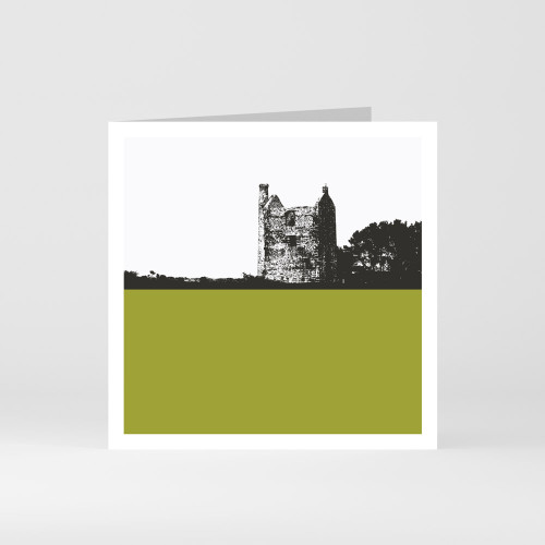 Jacky Al-Samarraie Cornwall Greeting Card of Tin and Copper Mine Wheal Phoenix in Bodmin