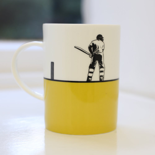 Jacky Al-Samarraie Cricket Bone China Mug