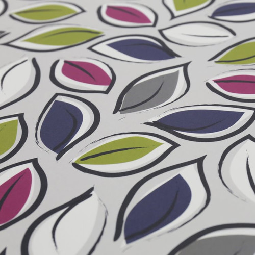 Jacky Al-Samarraie Leaves  - Blue & Pink Gift Wrap Pack