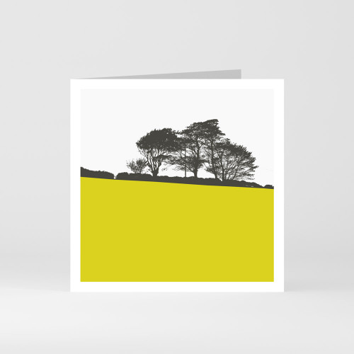 Jacky Al-Samarraie Ardmore Point - County Wicklow Greeting Card