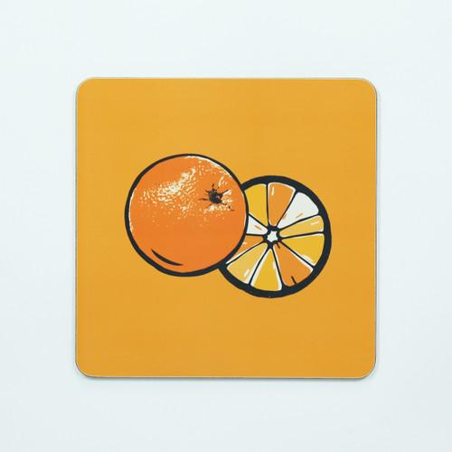 Orange Table Mat