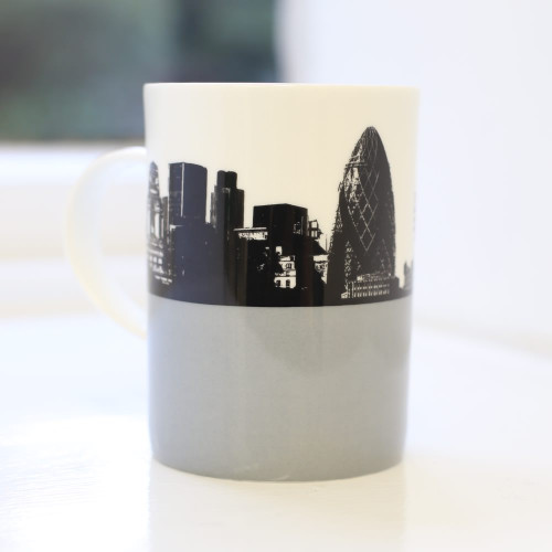 Gherkin Bone China Mug