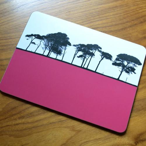 Raspberry Landscape Placemat