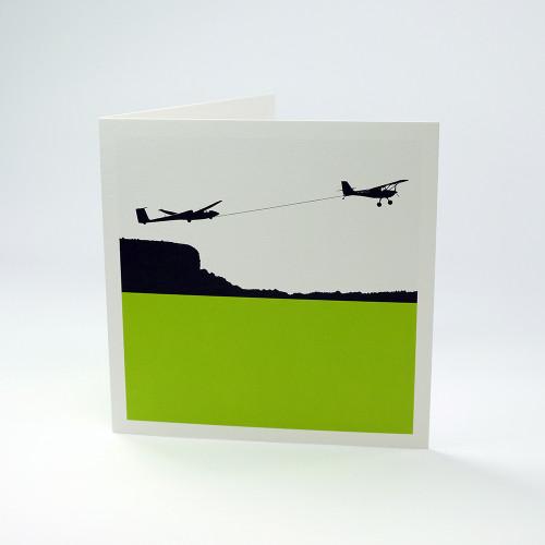 Gliding greeting card by Jacky Al-Samarraie