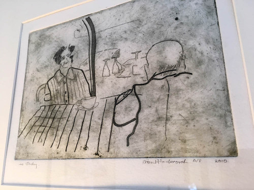 Drypoint Image The Art Rooms