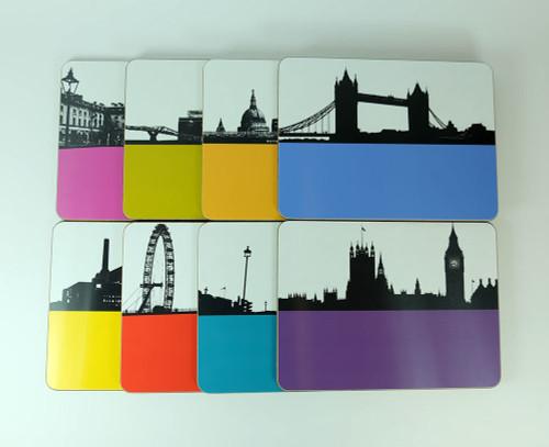 London Placemat Set - Seconds