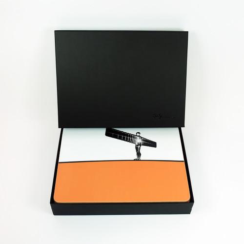Newcastle, Gateshead & Sunderland Placemat Set with Luxury Gift Box by Jacky Al-Samarraie