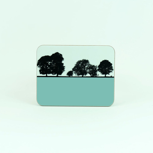 Windermere landscape drinks coaster by Jacky Al-Samarraie. Lake District.