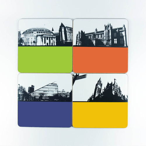 Manchester place mat set by Jacky Al-Samarraie - Slight Seconds