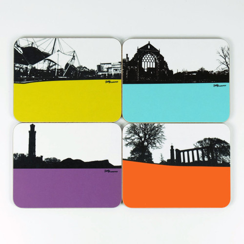 Edinburgh Coaster Set by Jacky Al-Samarraie