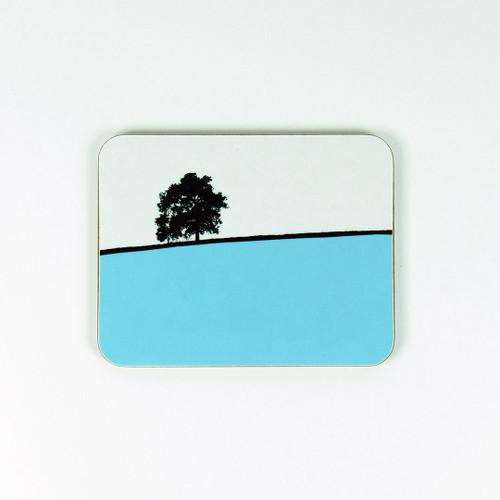 Hawkshead Lake District Coaster by Jacky Al-Samarraie